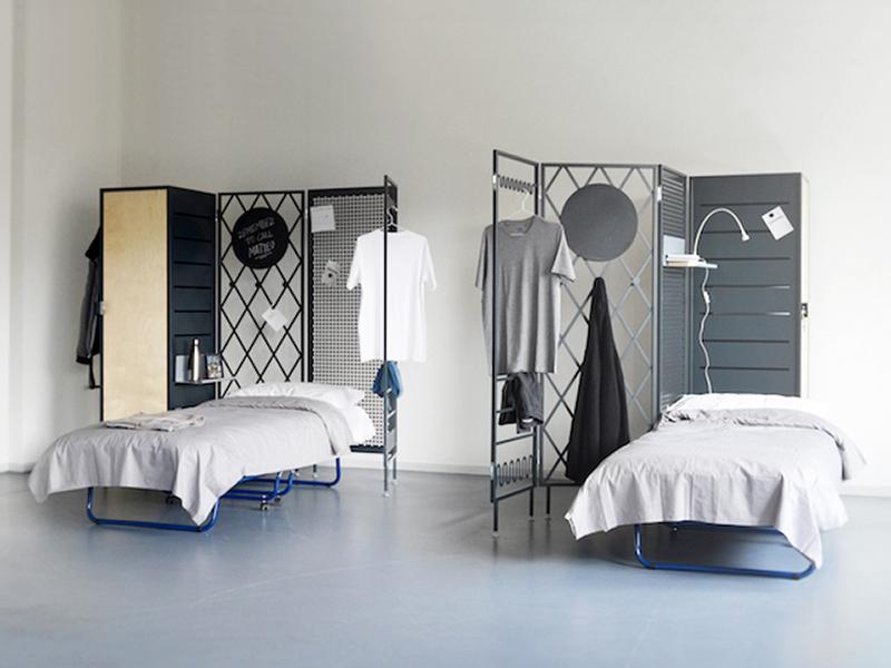 Giulia Pesce - Ruggero Bastita thiết kế đồ nội thất đa năng cho không gian sống tập thể