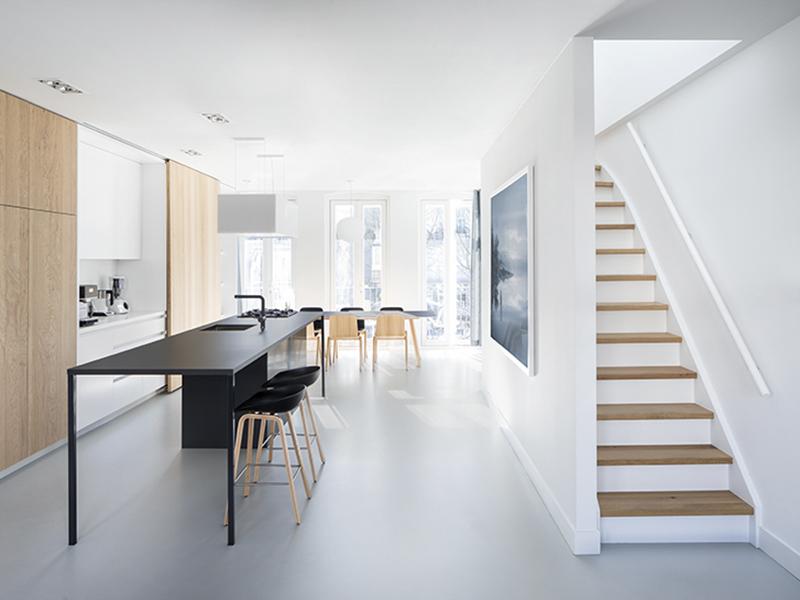 i29 với thiết kế căn hộ hiện đại tràn ngập ánh sáng tại Amsterdam