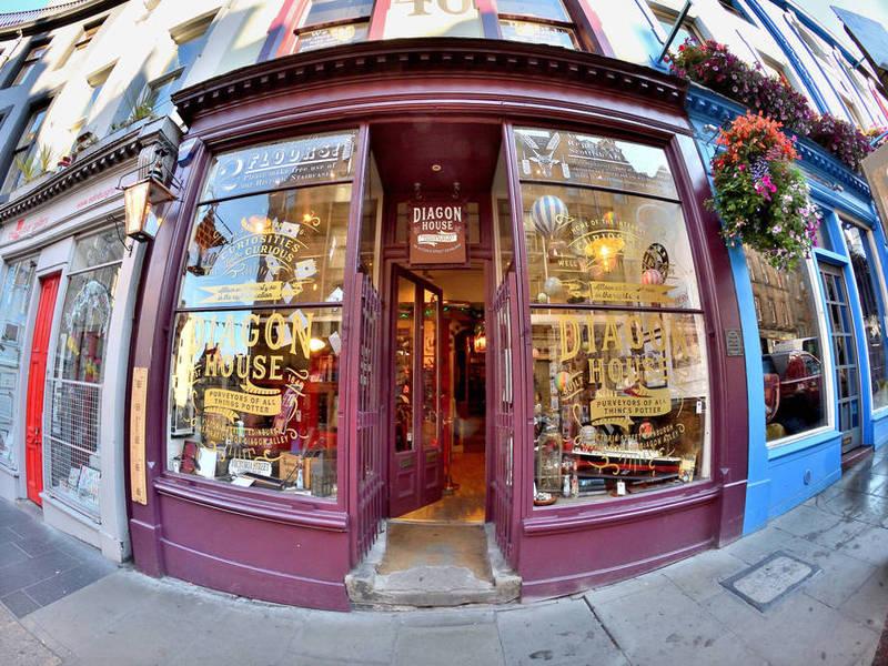 Diagon House cửa hàng phép thuật trong mơ của những fan Harry Potter
