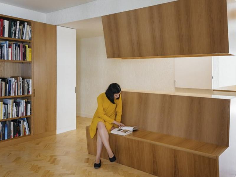 Aurora Arquitectos thay đổi diện mạo cho nội thất văn phòng một căn hộ tại Lisbon