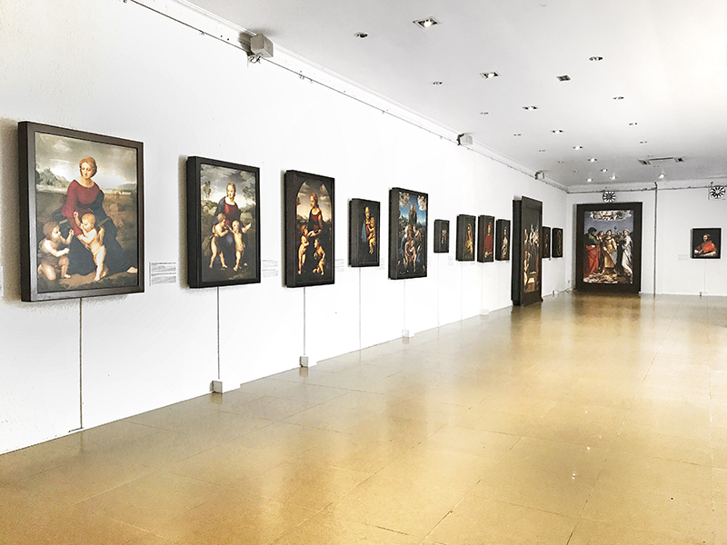 """""""Raffaello: Các tác phẩm"""" - Chuyến du hành vào thế giới hội hoạ đầy màu sắc của Raphael"""