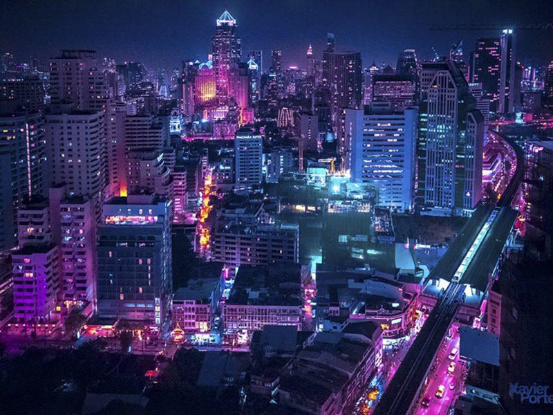 Một Bangkok về đêm rực rỡ dưới góc nhìn của nhiếp ảnh gia Xavier Portela