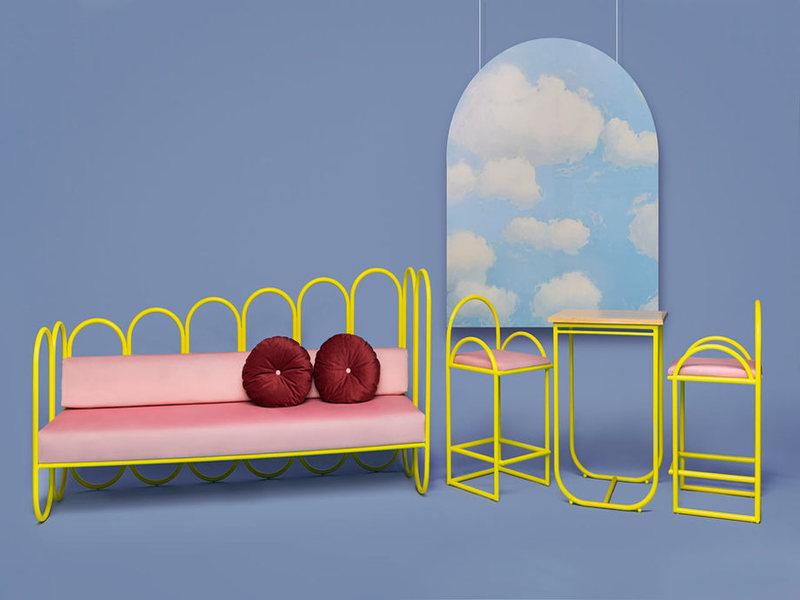 ARCO: Bộ sưu tập nội thất lấy cảm hứng từ thập niên 70s của Masquespacio