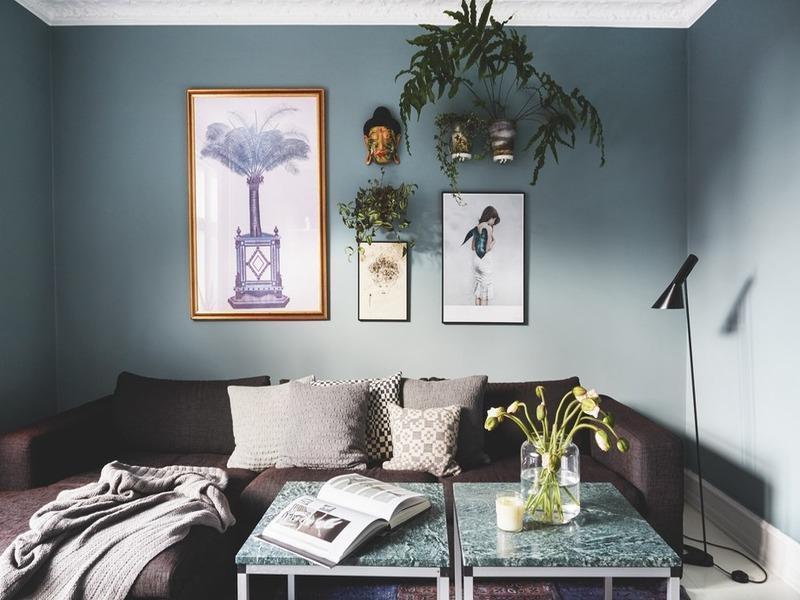 House tours: căn hộ ốc đảo xanh của Thilde Satin