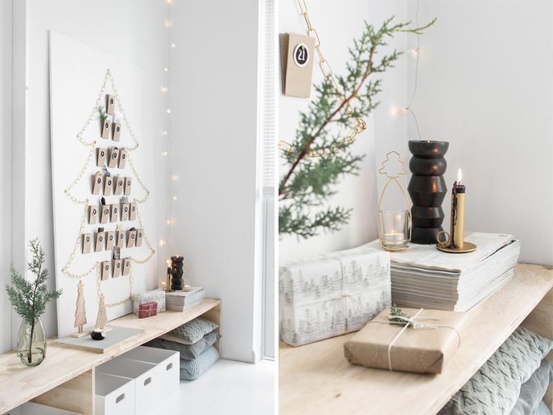 DIY: Lịch đếm ngược tới Giáng Sinh chứa đầy bất ngờ nhỏ