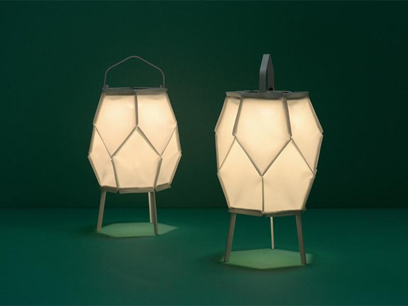 Bộ sưu tập đèn sạc pin độc đáo của Normal Studio với vật liệu bền vững