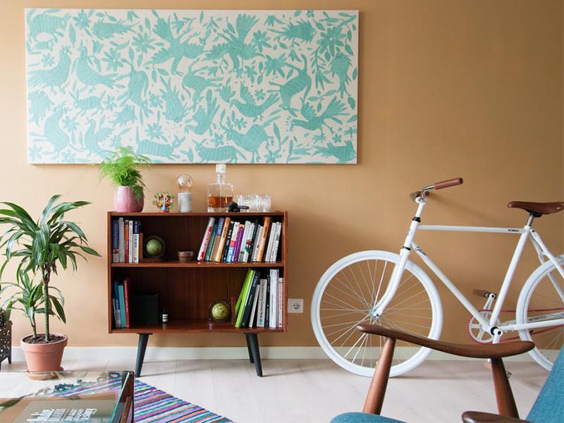 Những giải pháp thú vị để lưu giữ xe đạp trong căn hộ nhỏ
