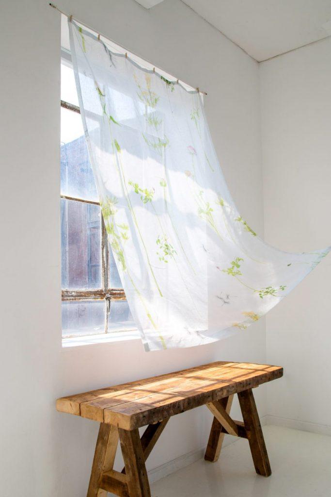 calico wallpaper vải
