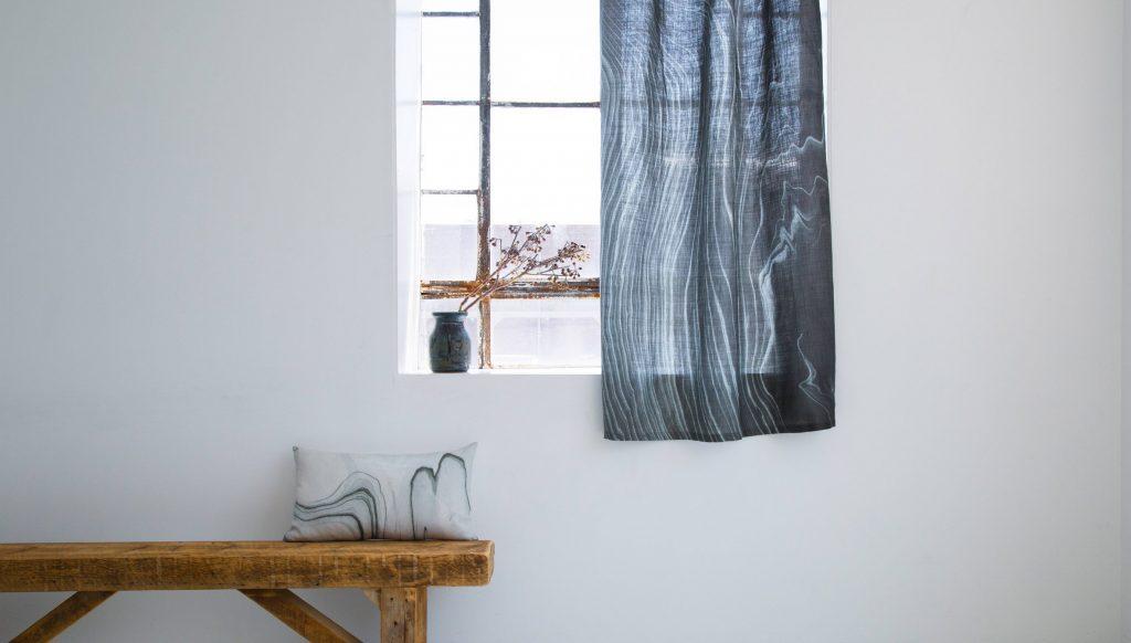 calico wallpaper vải mới