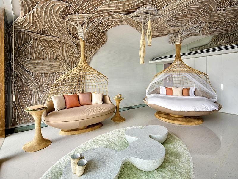 Ghé thăm 7 không gian khách sạn xa hoa bậc nhất thế giới