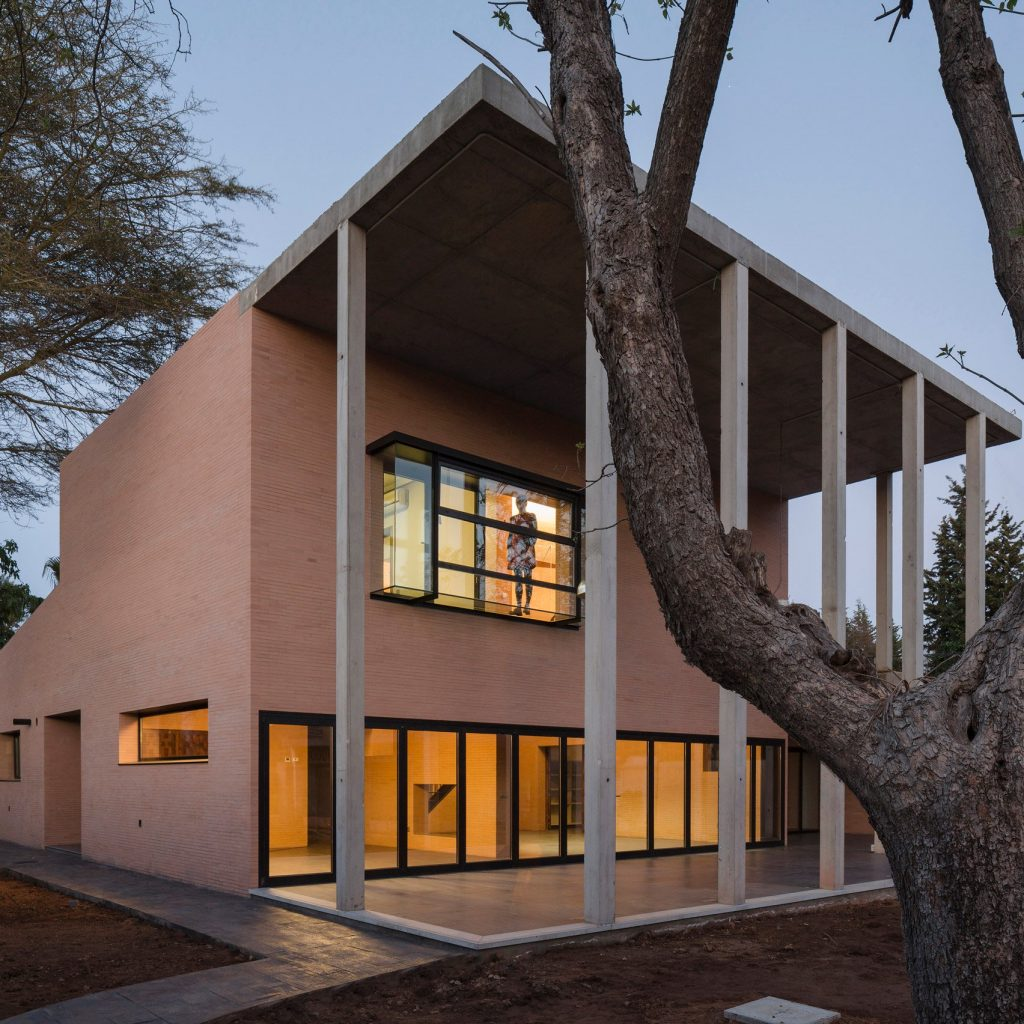 kiến trúc hiện đại thiên nhiên