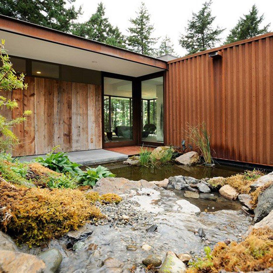 nhà bên hồ nước hình 4