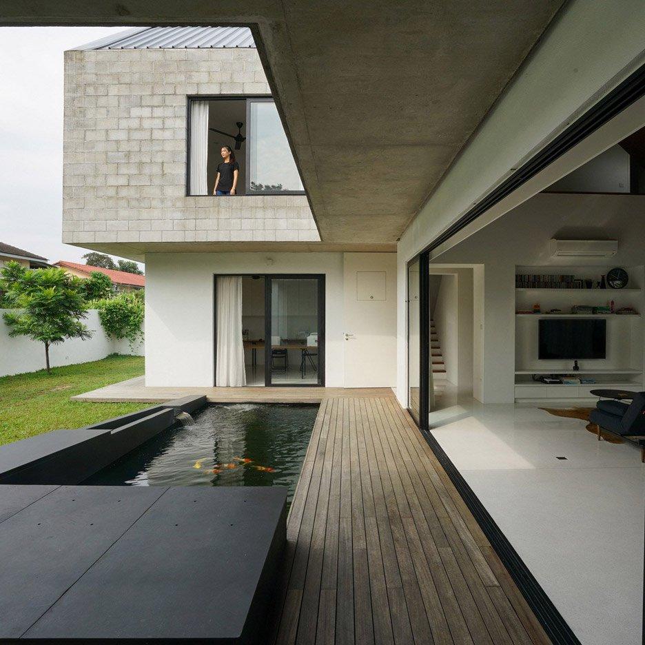 nhà bên hồ nước hình 10