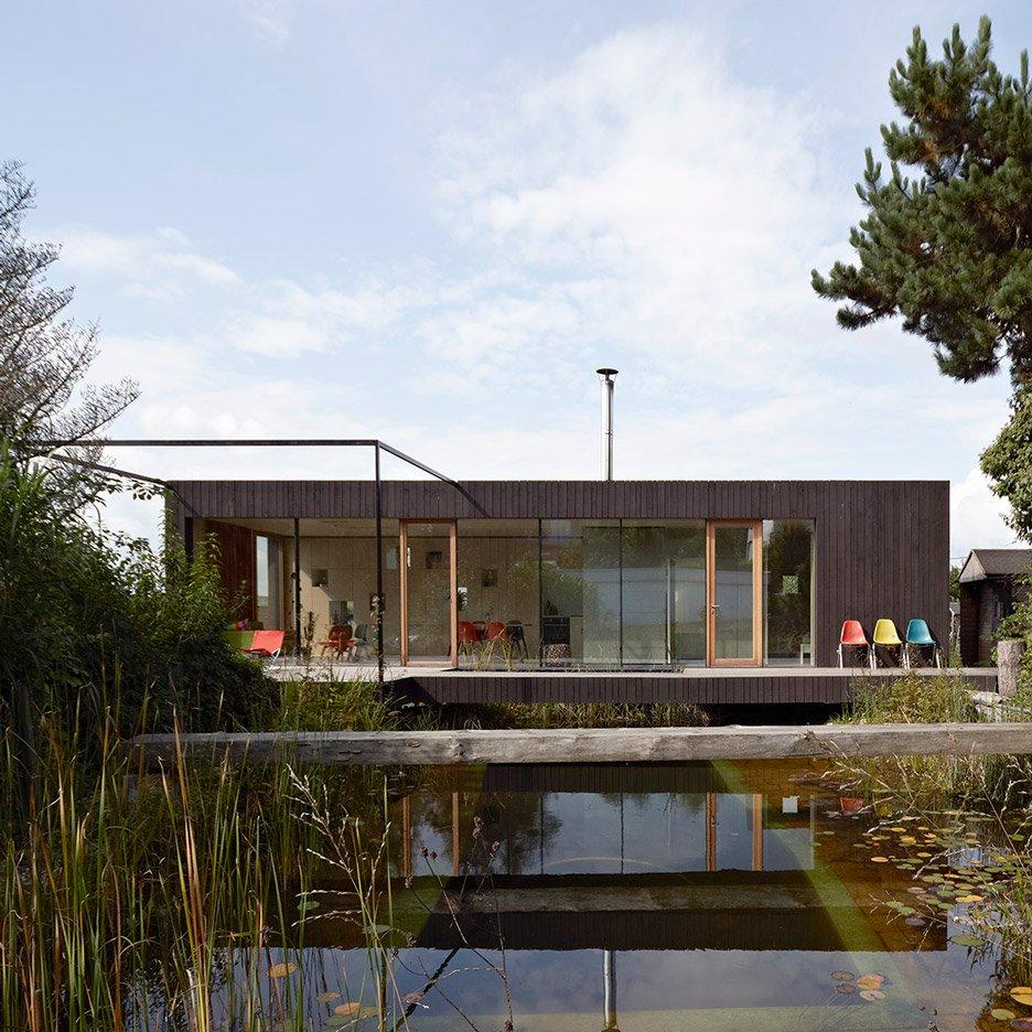 nhà bên hồ nước hình 1