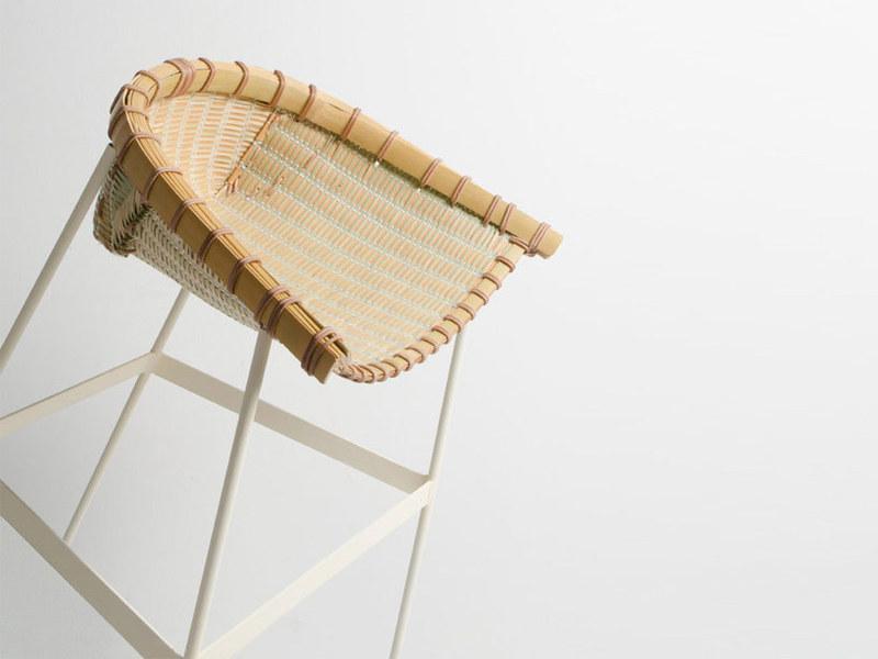 """Ghế """"sàng nia"""" Temi của Hiroyuki Morita"""