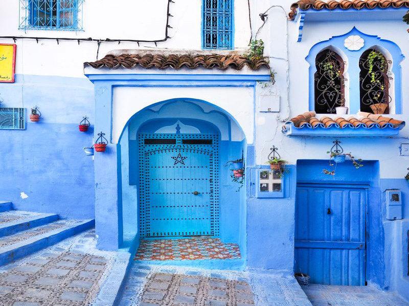 Chefchaouen- lạc lối trong thành phố xanh thiên đường của Morocco