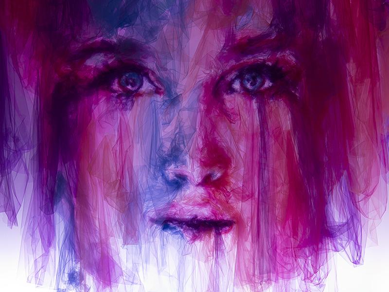 """Benjamin Shine: nghệ sỹ kì tài """"vẽ"""" chân dung sống động bằng vải tulle"""