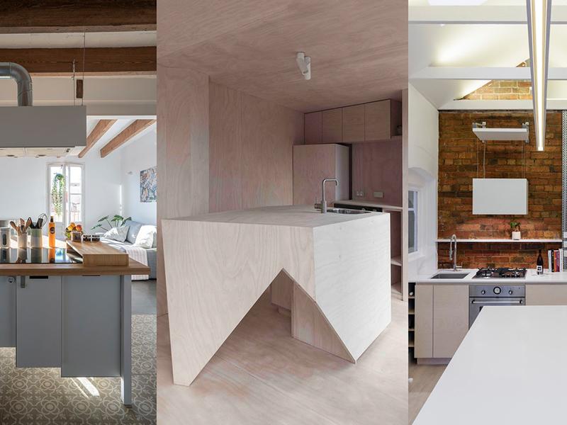 Không gian bếp và các giải pháp trong ngôi nhà nhỏ