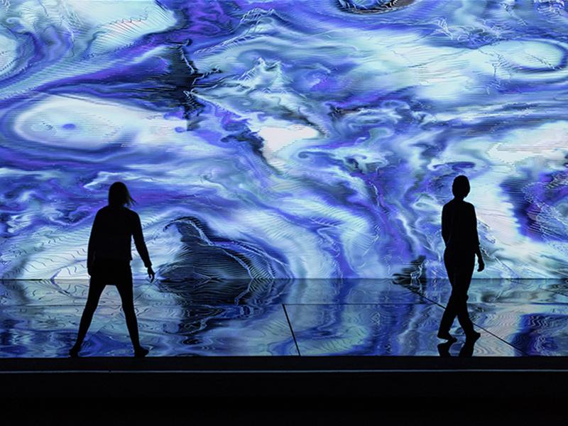 Triển lãm Digital Abysses: đắm mình giữa biển khơi đương đại