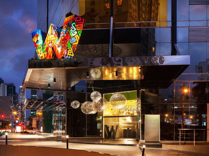 Khách sạn W Panama và những sắc màu cá tính