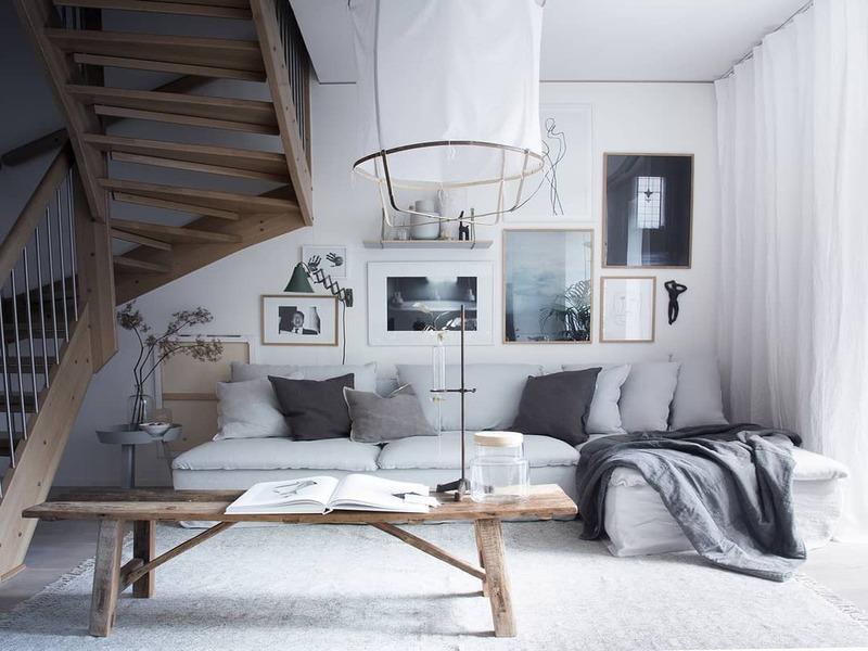 Những cách ứng dụng vải Linen vào trang trí nội thất