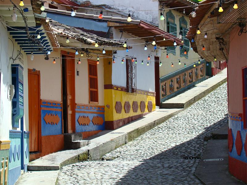 Đất nước Colombia và 10 thị trấn thú vị