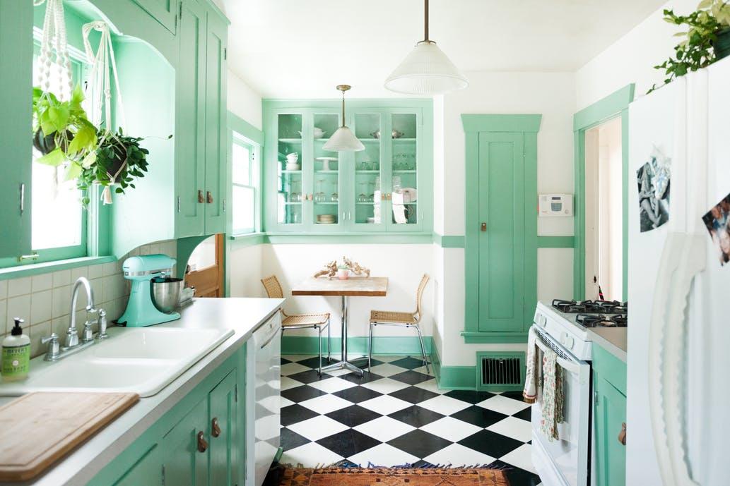 màu sắc cho gian bếp 8
