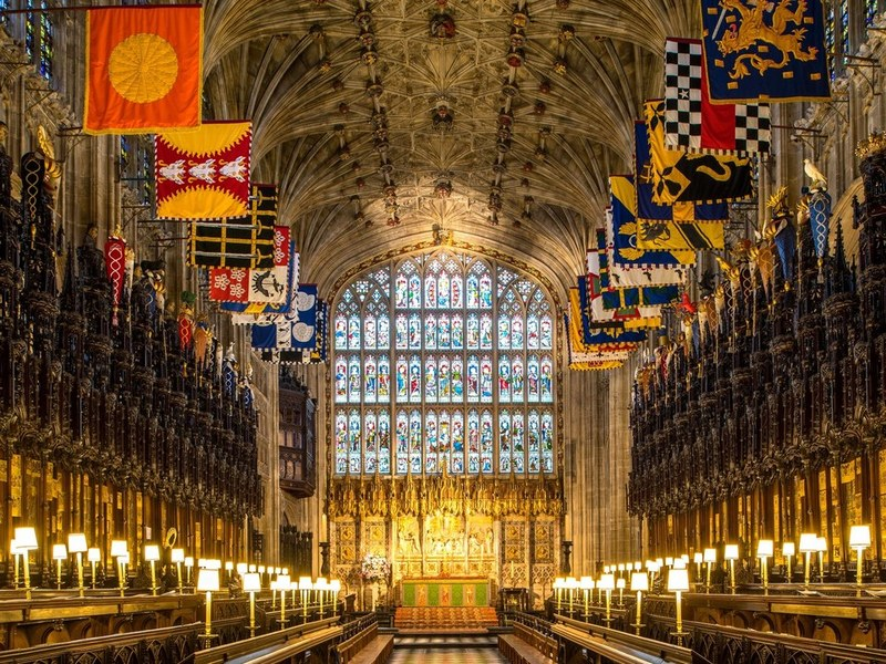 Ghé thăm nguyện đường St. George's lộng lẫy- nơi cử hành đám cưới Hoàng gia Anh