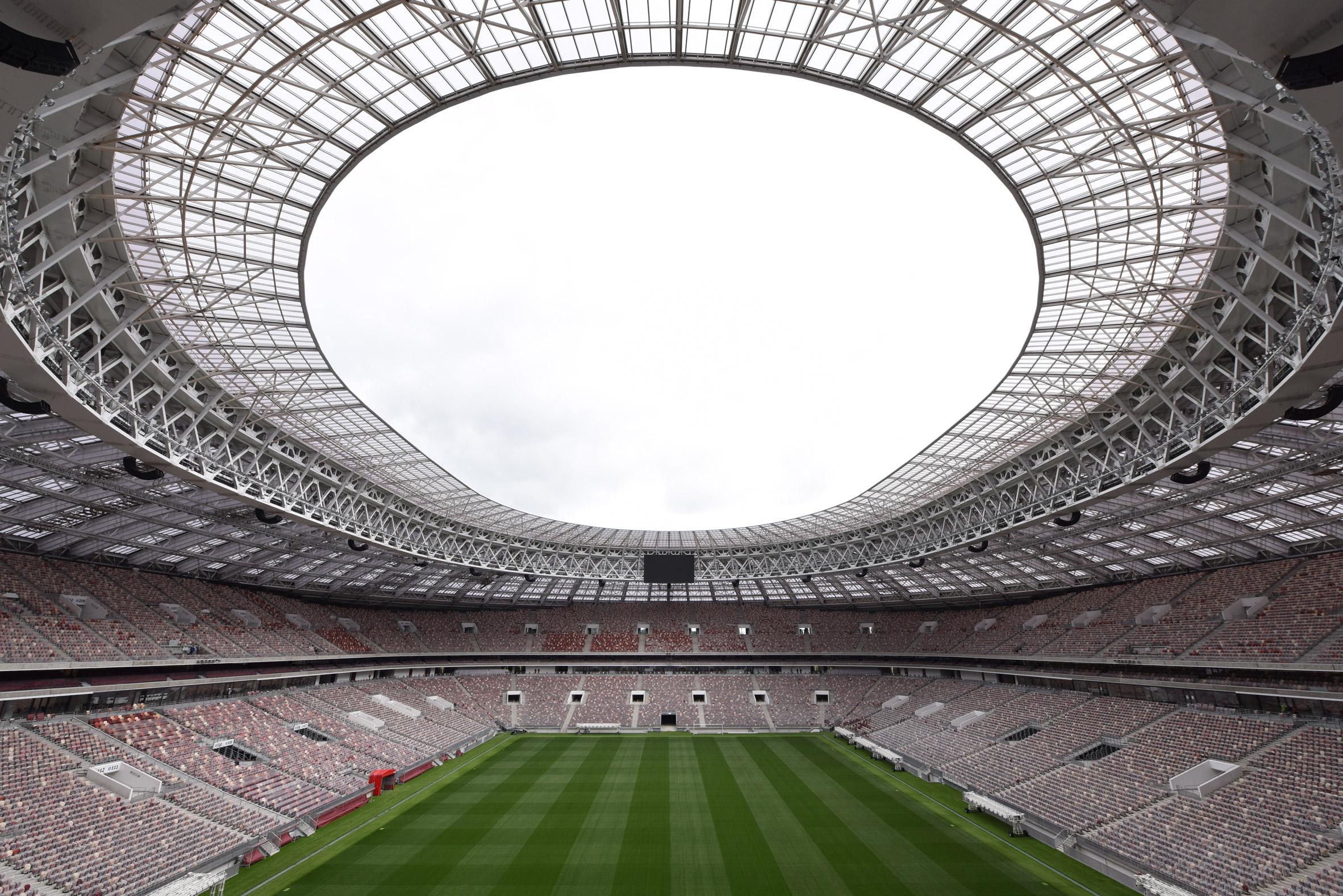 Sân vận động World Cup 2018-