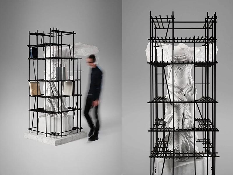 Nhà thiết kế Sebastian Errazuriz biến tấu các tác phẩm điêu khắc cổ điển