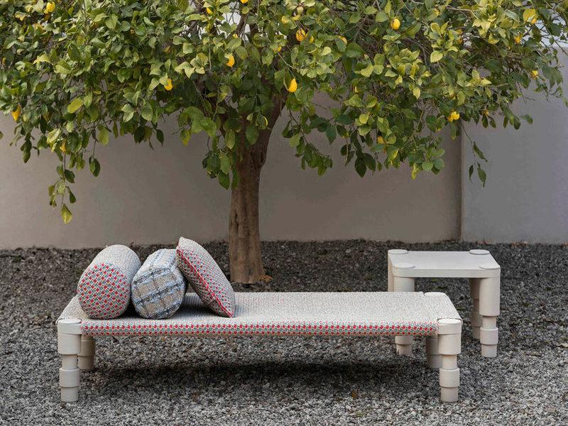 Bộ sưu tập đồ ngoại thất Garden Layers- một sáng tạo của Patricia Urquiola cho hãng GAN