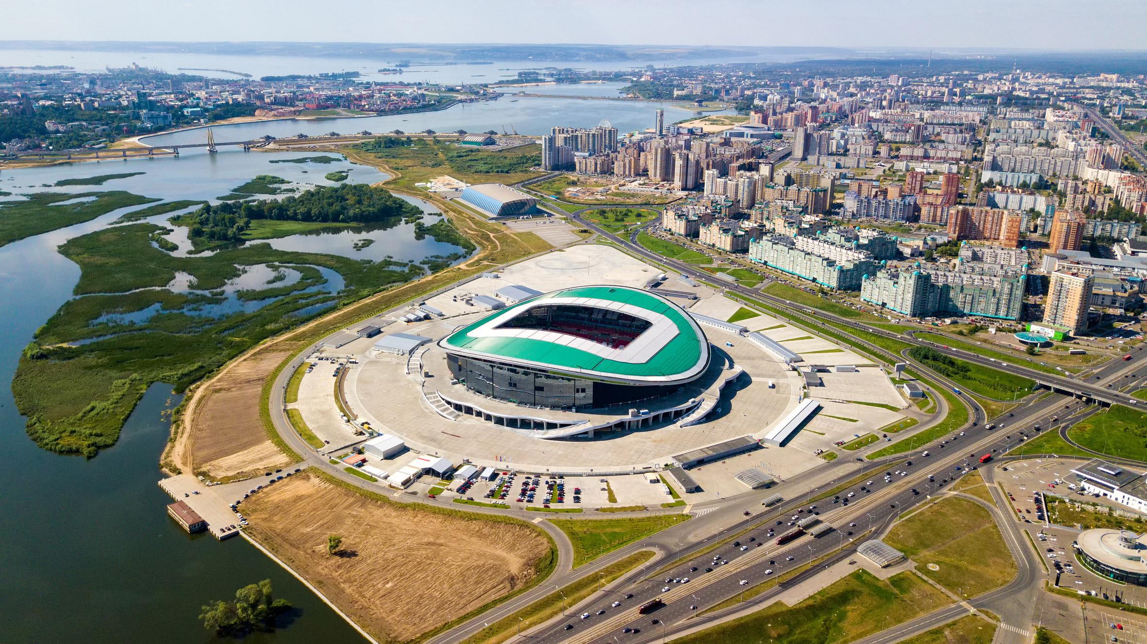 Sân vận động World Cup 2018-9