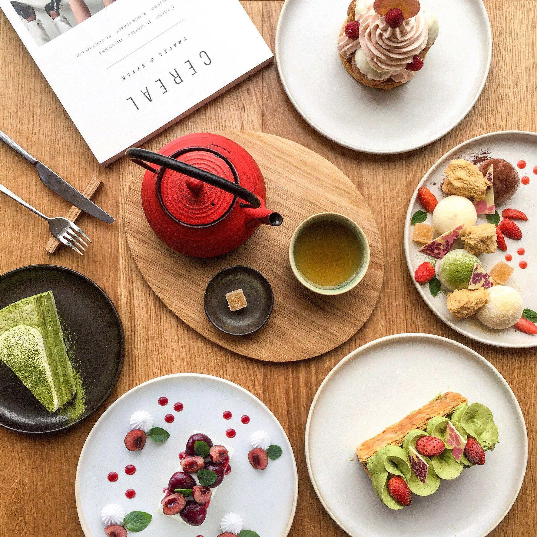 tiệm bánh ngọt Miyama cafe elledecorationvn