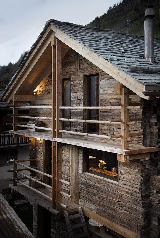 nhà gỗ Chalet 7