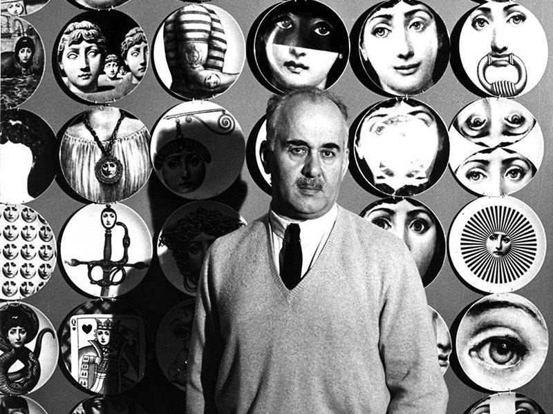 Nhà thiết kế Fornasetti và biểu tượng thiết kế bất diệt | Từ điển ELLE Decoration