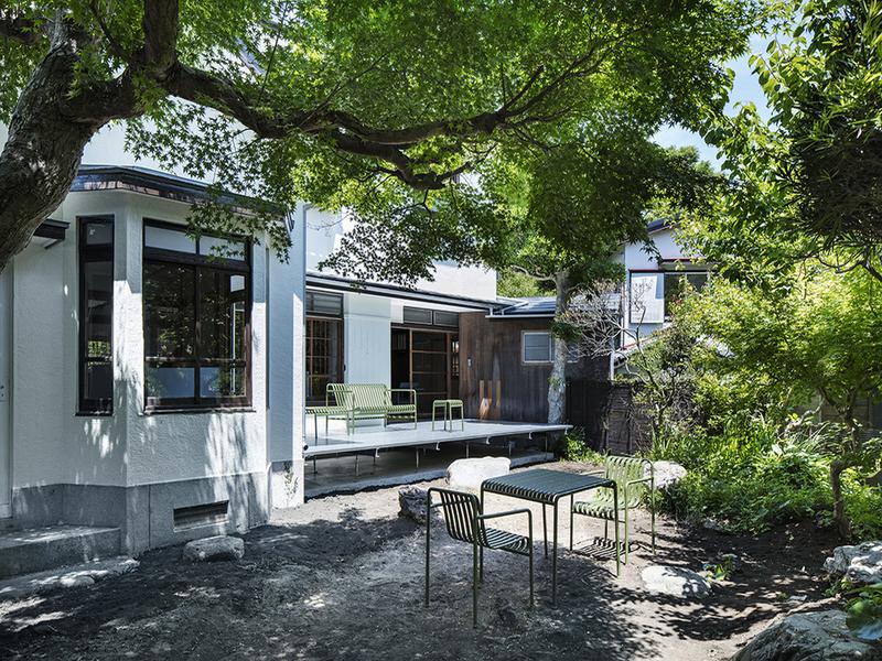 Hojo Sanci-dự án cải tạo nhà Nhật truyền thống thành văn phòng hiện đại, tối giản