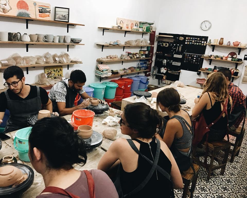 Lớp học làm gốm Sài Gòn-Meow pottery elledecoration vn 18