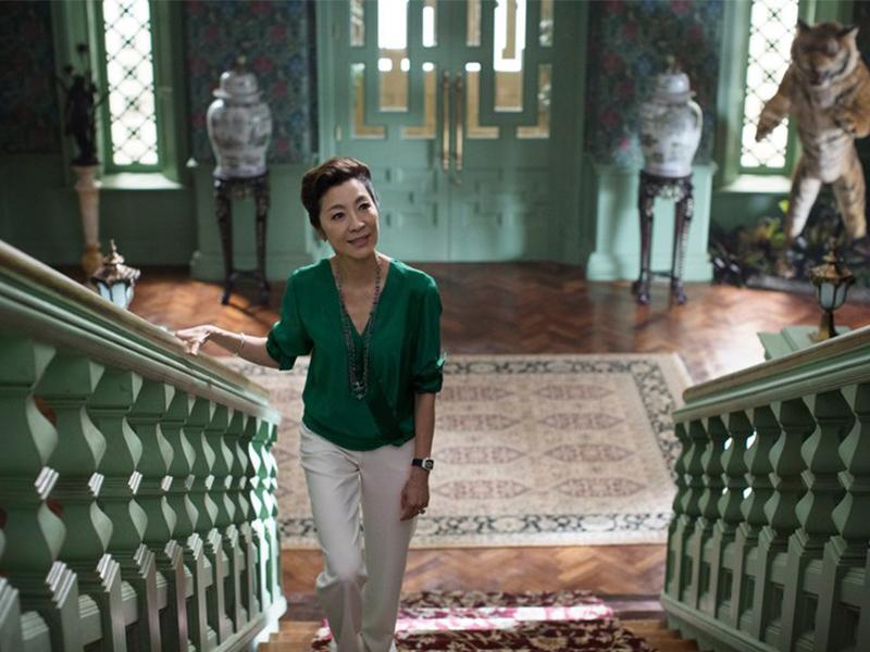Các địa điểm bối cảnh sang chảnh ngất trời trong phim Crazy Rich Asians