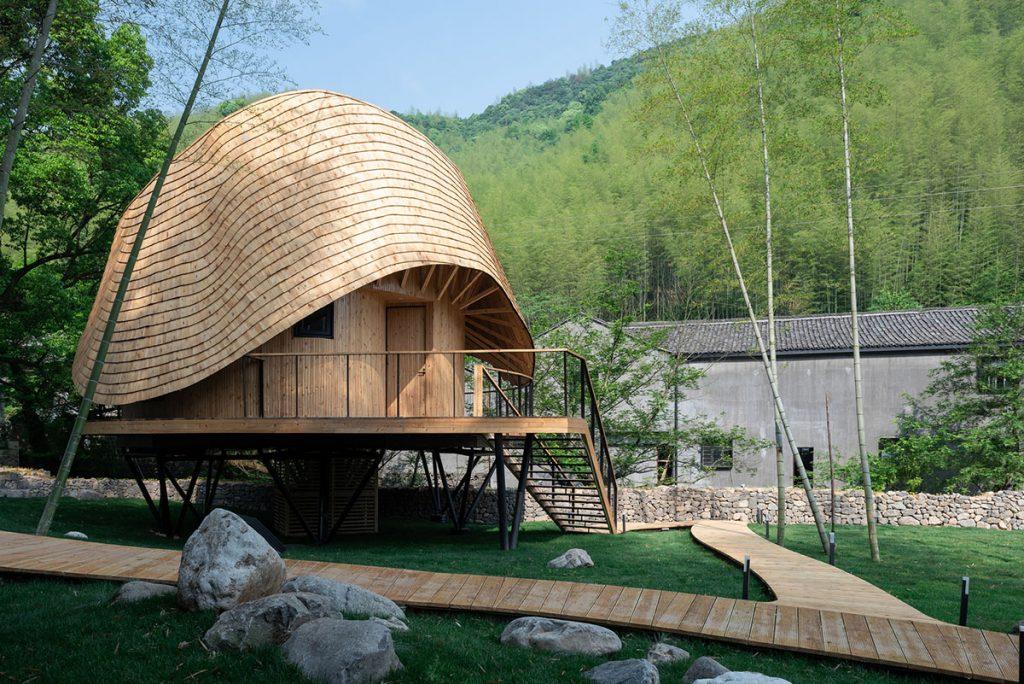 nơi nghỉ dưỡng treewow-treehouse-monoarchi-architecture-xband-club-zhongcun-1