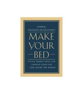 Sách tâm lý tự tìm hạnh phúc Make your bed