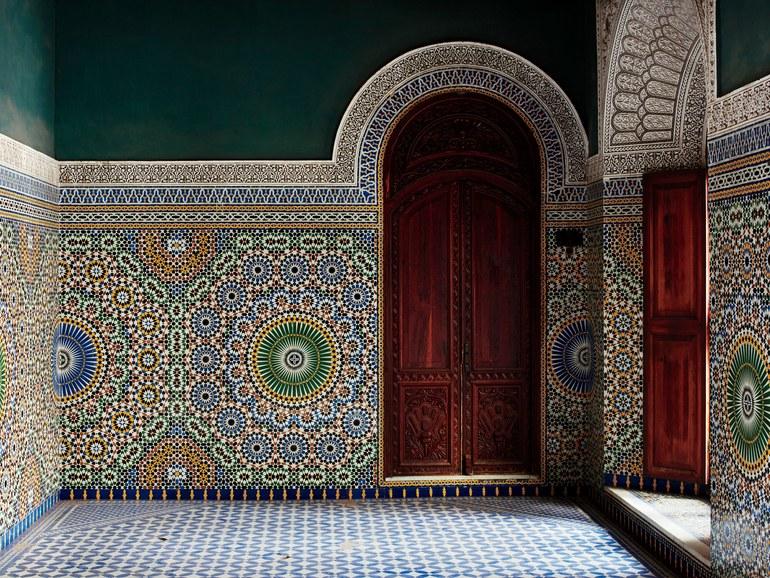 gạch mosaic Morocco elledecoration vn 6