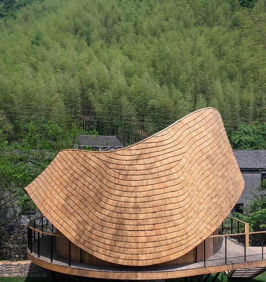 nơi nghỉ dưỡng treewow-treehouse-monoarchi-architecture-xband-club-zhongcun-7