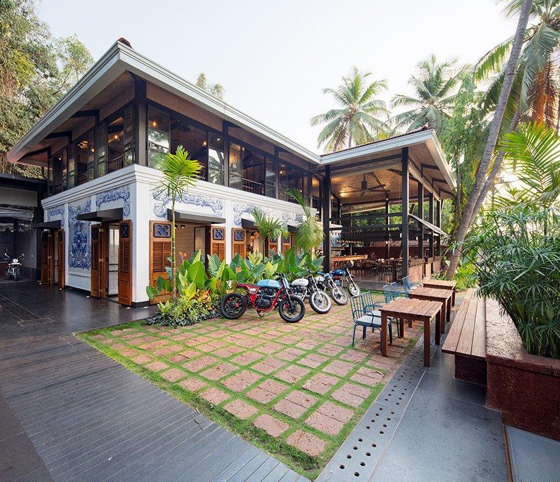 quán cafe garage 2