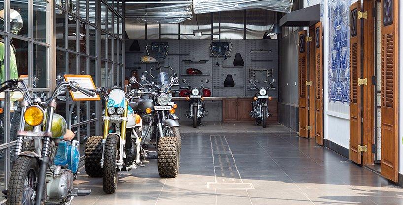quán cafe garage 6