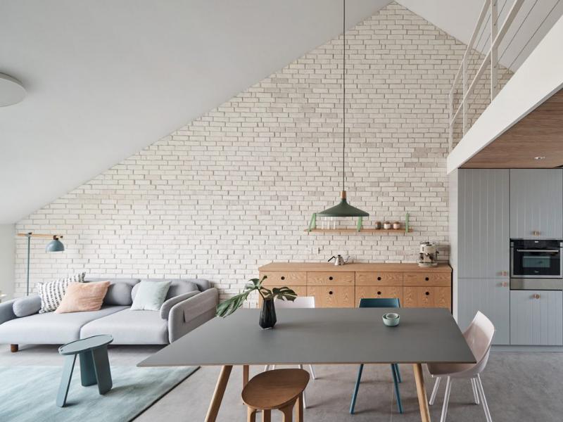 Robust House- căn hộ cho gia đình trẻ tươi sáng với nội thất màu pastel | HAO Design