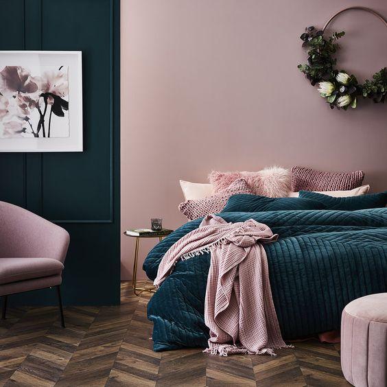 trang trí nhà màu hồng ED TIPS 9