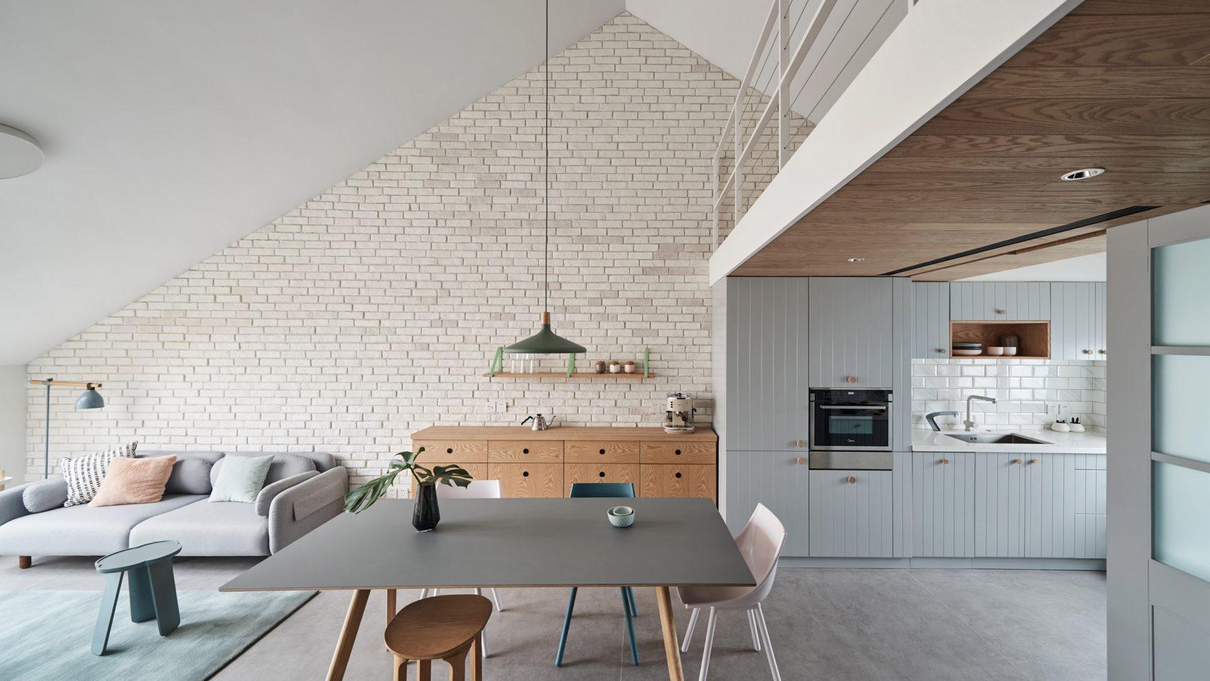 căn hộ cho gia đình trẻ starburst-house-hao-design-interiors-residential-china-beijing-elledecoration vietnam 2