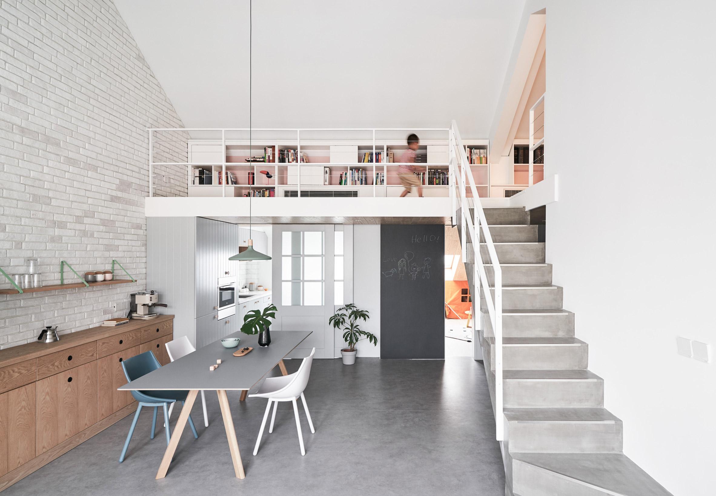 căn hộ cho gia đình trẻ starburst-house-hao-design-interiors-residential-china-beijing-elledecoration vietnam 7