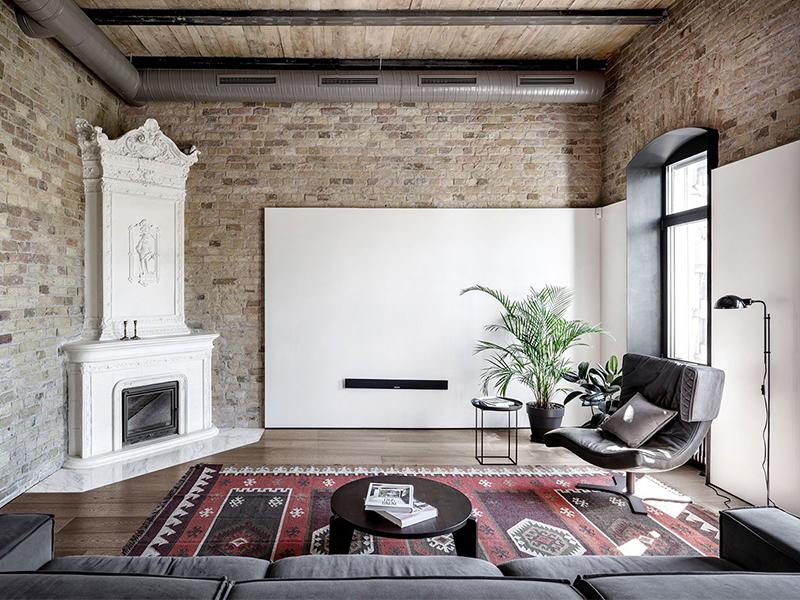 Phông nền cũ - Thẩm mỹ mới tại căn hộ Pushka Apartment