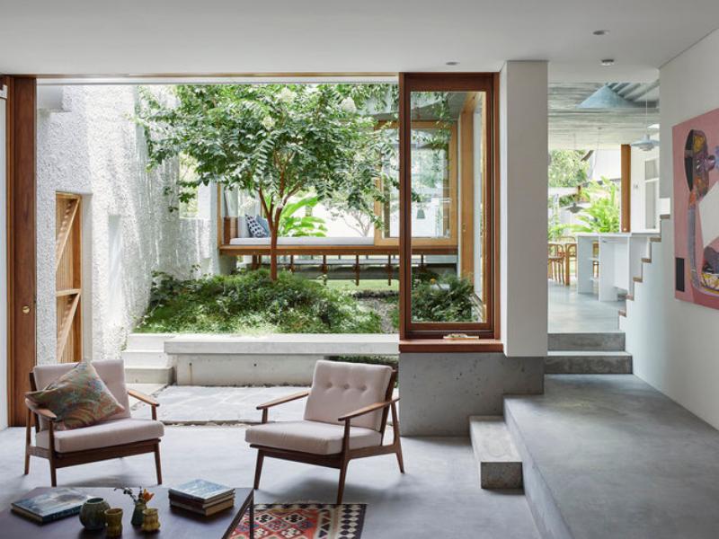 Nhà phố Gibbon Street - ngôi nhà tắm đẫm nắng vàng ở nước Úc | Cavill Architects